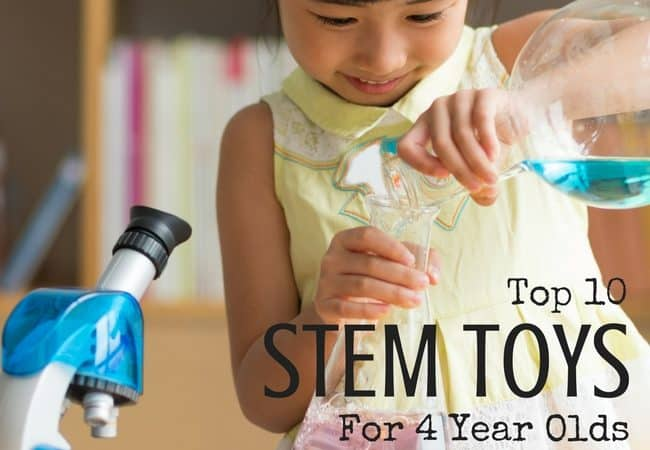 Top 10 STEM TOYS For 4 Year Olds