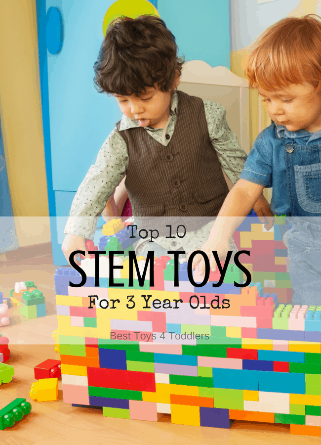 Top 10 STEM TOYS For 3 Year Olds