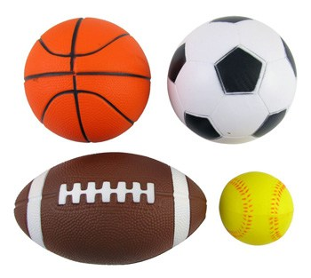 Top 10 Outdoor Toys For 2 Year Olds: Set Of 4 Sports Balls For Kids