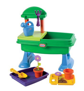 Top Outdoor Toys For 1 Year Olds: Water & Sand Garden Table