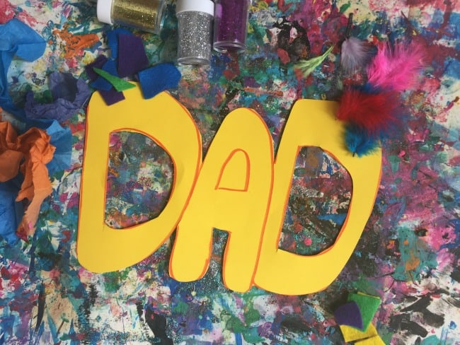 last minute father's day craft