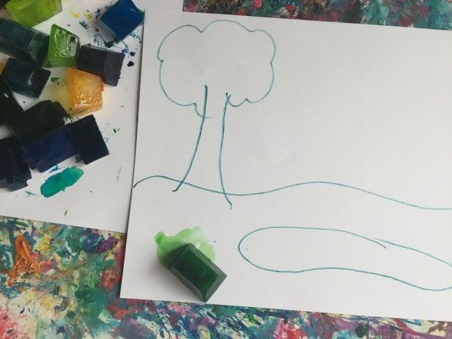easy preschool art activity