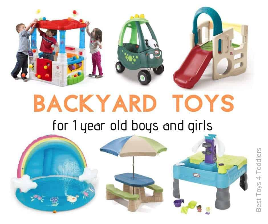 backyard toys for one year olds - fun outdoor toys for busy toddlers