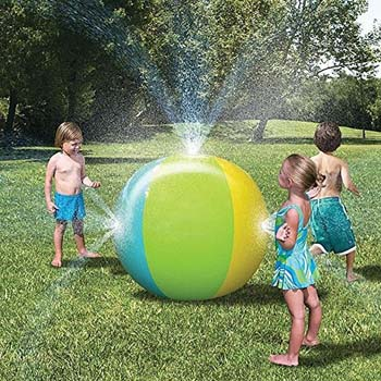 Top 10 Outdoor Toys For 3 Year Olds: Beach Ball Sprinkler