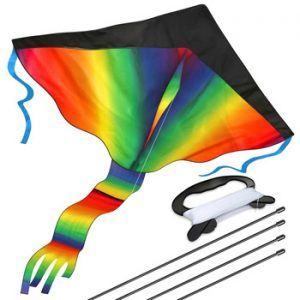 Top 10 Outdoor Toys For 3 Year Olds: Rainbow Kite
