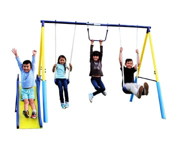 Top 10 Outdoor Toys For 3 Year Olds: Metal Swing Set
