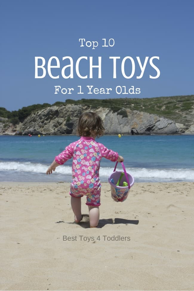 Top 10 Beach Toys For 1 Year Old Boys and Girls - best toys for toddlers to bring on the beach this summer!