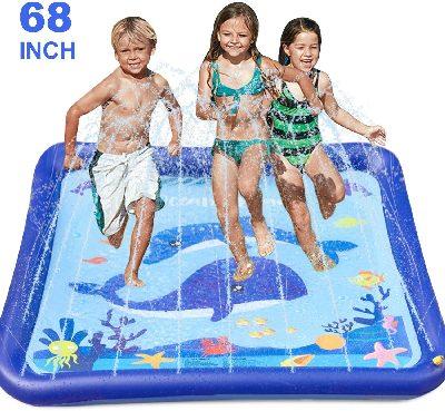 GiftInTheBox Kids Sprinkler & Splash Play Mat