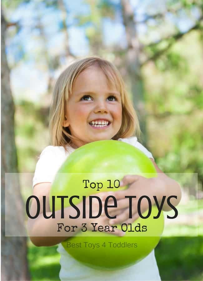 Best Toys 4 Toddlers - Best outdoor toys for 3 year old boys and girls to enjoy this spring and summer #age3 #outdoortoys #outdoorplay #3yearolds #preschoolers #besttoys4tots