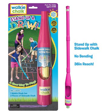 Top 10 Outdoor Toys For 4 Year Olds: Sidewalk Chalk Holder
