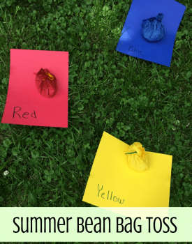 Color Matching Gross Motor Game