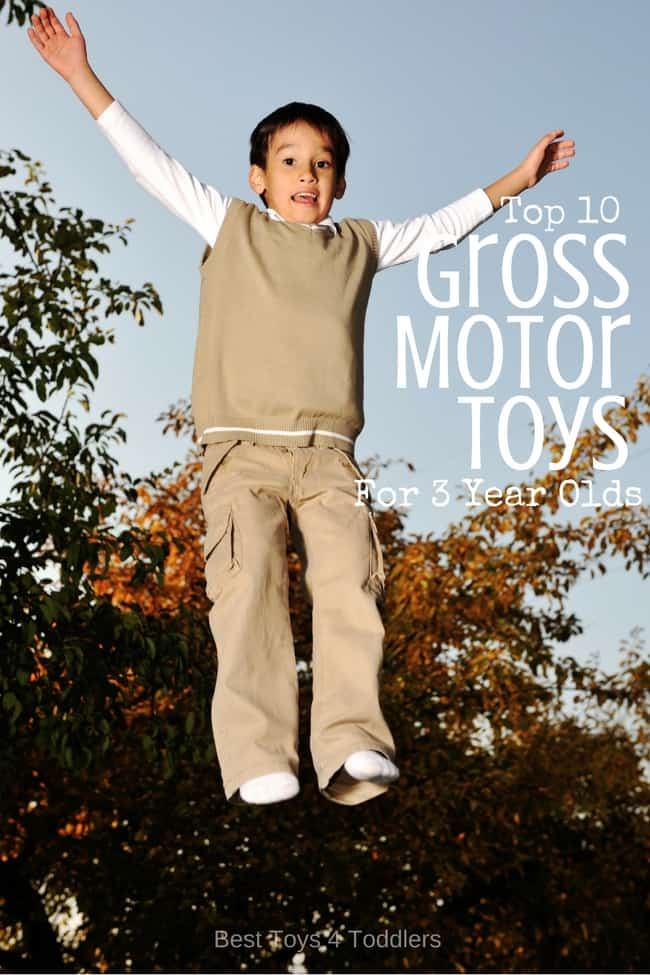 Top 10 Toys For Promoting Gross Motor Skills In 3 Year Olds
