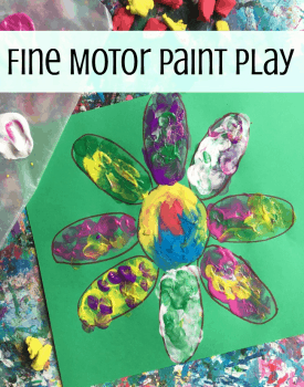 Fine Motor Shape Puzzle Play