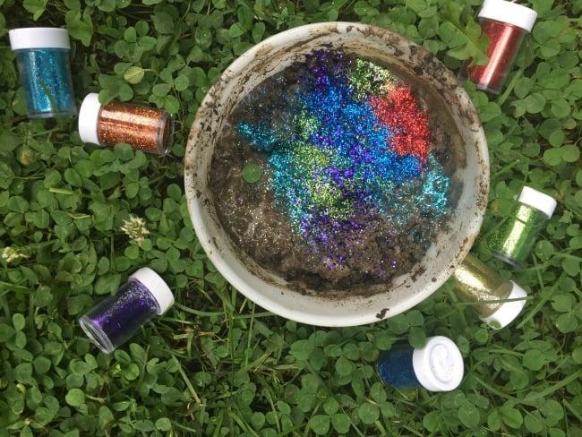 glitter activity
