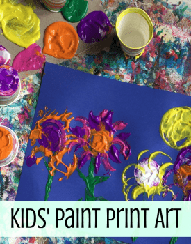 Kids' Art Activities: Make Paint Prints