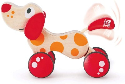 dog pull toy for 1 year old toddlers