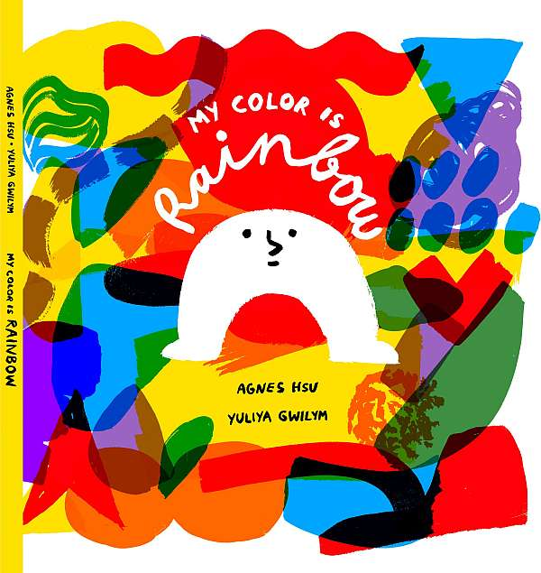 My Color Is Rainbow  book before toddler's afternoon nap