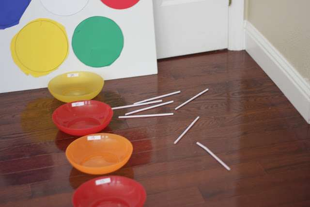 33 Out of the Box Activities with Drinking Straws - javelin throw for rainy day