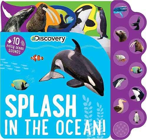Splash in the Ocean