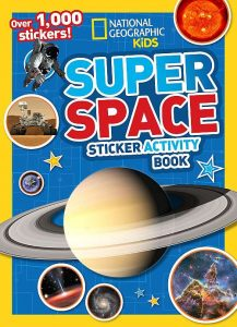 Super Space Sticker Activity Book: Over 1,000 Stickers