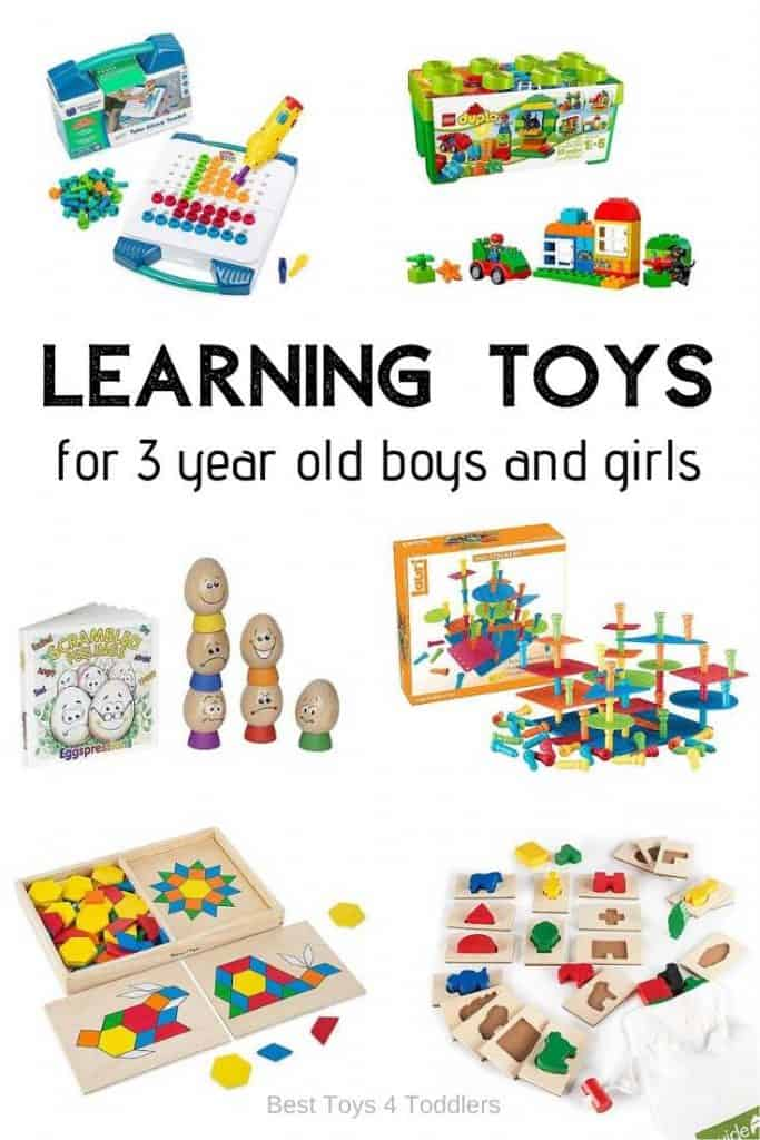 Top 10 Educational Toys for 3 Year Old Boys and Girls