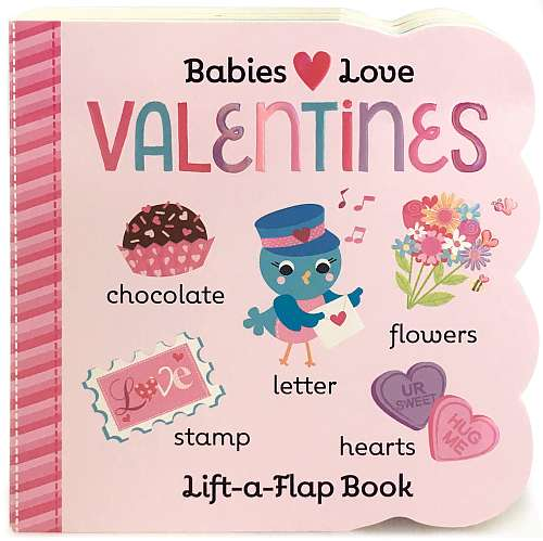 Valentine's Chunky Lift-a-Flap Board Book