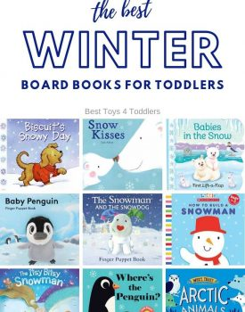 To help your toddlers understand changes in the nature during winter season read them few from the list of the best winter board books for toddlers! #toddlers #readaloud #booksfortoddlers #1yearolds #2yearolds #bestbooks #winter #winterseason #besttoys4tots