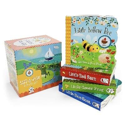 Nature Friends Lift-a-Flap Boxed Set 4-Pack