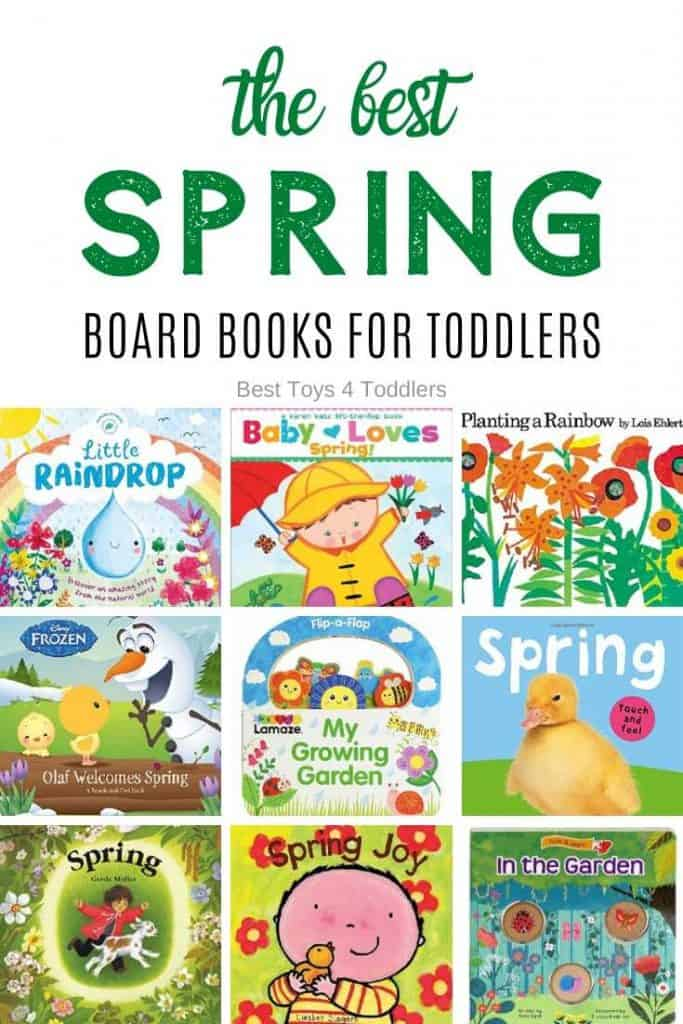 The Best Spring Board Books for Toddlers - To help toddlers understand changes in the nature grab few of the best spring board books for toddlers and enjoy cosy reading time!