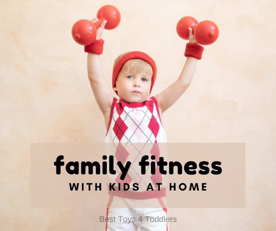 Fun and engaging ways to keep active with family fitness activities you can do with your children at home