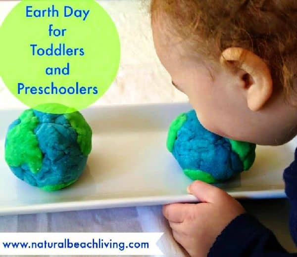 Earth Day Play Dough for Toddlers