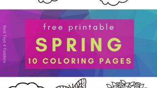 10 free spring printable pages for toddlers and preschoolers