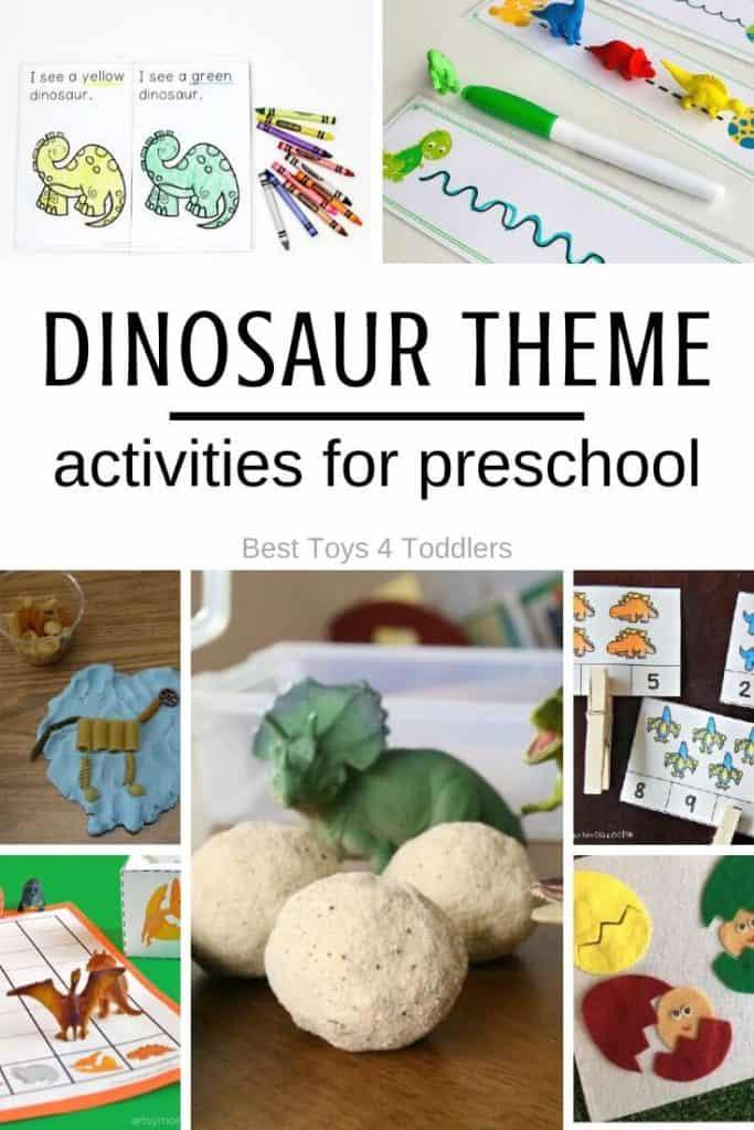dinosaur theme activities for preschool