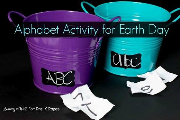 Earth Day Alphabet Activity