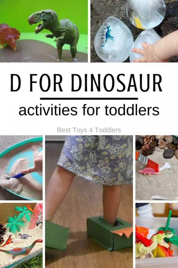 Tot school - dinosaur activities for toddlers