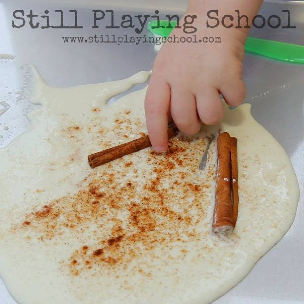 Applesauce Dough for Sensory Play