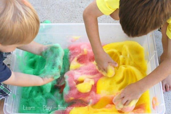 Apple Soap Foam