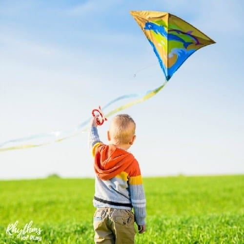 Kite Flying with Kids