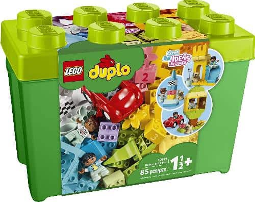 LEGO DUPLO Classic Deluxe Brick Box - classic STEM toy for beginners!