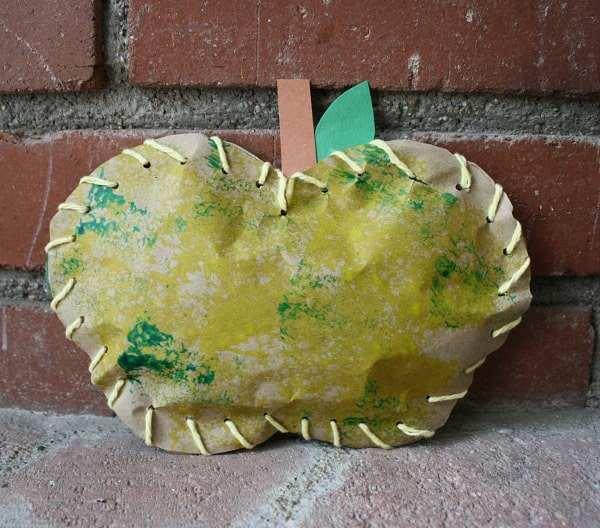 Stuffed Paper Apples