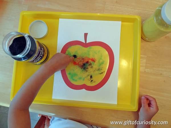 apple sand craft