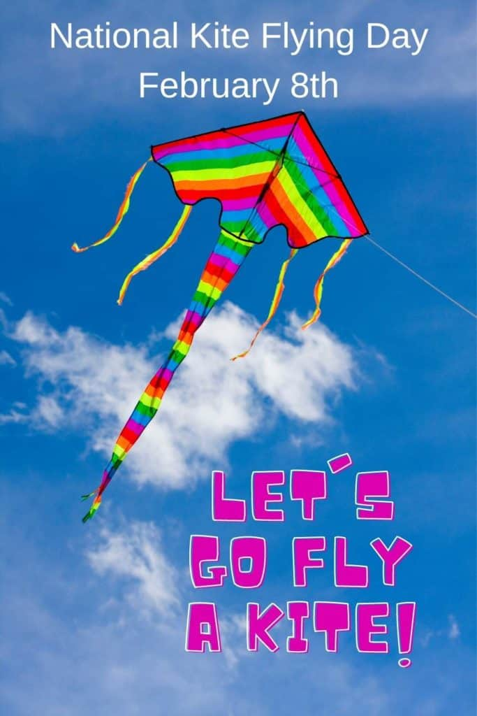 National Kite Flying Day February 8th