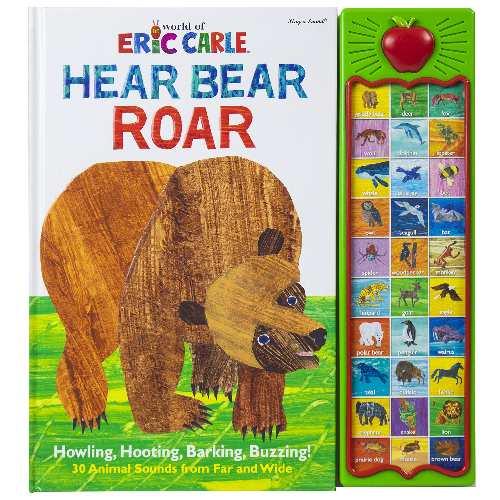 Hear Bear Roar 30 Animal Sound Book
