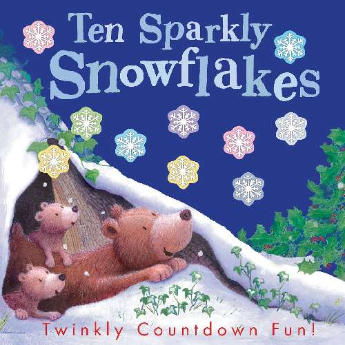 Ten Sparkly Snowflakes