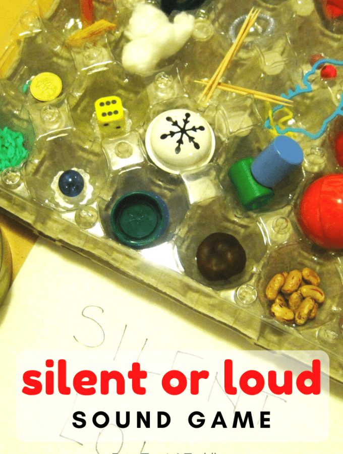 Silent or Loud Sound Game helps child with their sense of hearing but the game also help children to listen more carefully and pay attention.