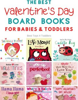 the best Valentines day board books for babies and toddlers
