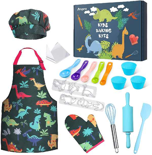 Anpro Complete Kids Cooking and Baking Set