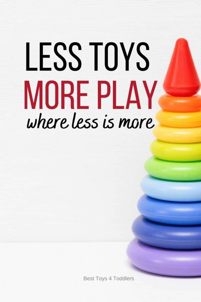 Less Toys, More Play - when reducing the number of toys results in more play
