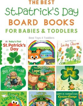 The best St.Patricks day day board books for babies and toddlers